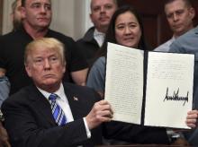 Donald Trump tariff decree