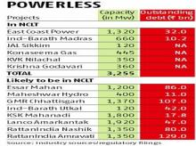 PFC's power projects with 14,000 Mw capacity to go down insolvency alley