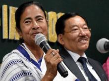 Mamata Banerjee, Sikkim CM