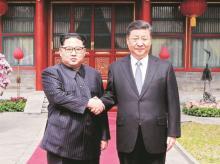 Kim Jong-un-Xi Jinping