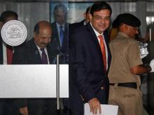 Urjit Patel, RBI Governor