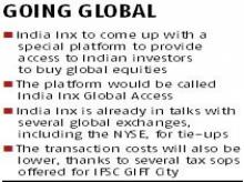India Inx planning new platform to make buying shares of foreign cos easier
