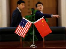 us china, us flag, china flag