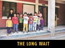 Children at Palna, the adoption agency run by the Delhi Council for Child Welfare. Photo: Sanjay K Sharma