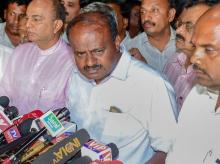 JD(S) leader H D Kumaraswamy