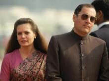 Rajiv Gandhi , Sonia Gandhi