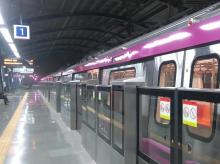 Magenta Line of Delhi Metro