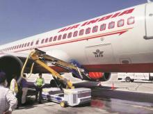 air india, igi airport, airport security