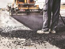 road, road construction, highway