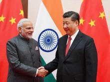 File photo of PM Narendra Modi with Chinese President Xi Jinping