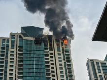 mumbai fire, deepika padukone house fire