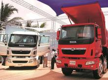 Tata Motors ended 2017-18 with a market share of 45.1 per cent in the CV market, marginally up from 44.4 per cent in the previous year