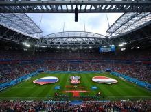 FIFA World Cup 2018, Egypt vs Russia