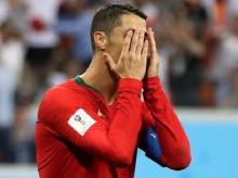 Ronaldo misses from the spot