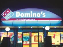 Jubilant Foods runs the chain of Domino's Pizza stores in India.