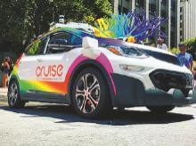 GM, electric cars, cruise control