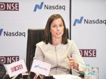 Adena Friedman, Nasdaq president & CEO. Photo: Kamlesh Pednekar
