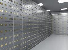 Bank locker