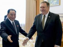 mike pompeo, kim jong chol, US north korea negotiations