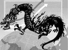 china stocks, dragon