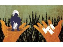 illustration, farmers, agriculture