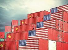 US exports, trade war