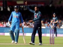 File photo: When MS Dhoni completed 10,000 runs in ODIs
