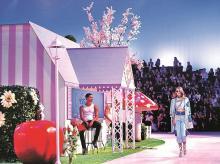 fashion show, ramp walk, philipp plein