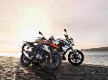 The BMW G 310 GS and  the BMW G 310 R