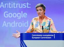 EU, Google, European Competition Commissioner Margrethe Vestager