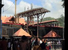 File photo of Sabarimala Temple