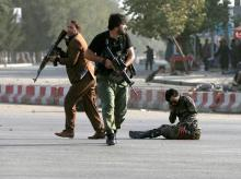 File photo of Afghan security forces