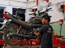 Hero MotoCorp to TVS, two-wheeler stocks skid as margin pressure weighs