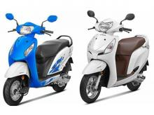 Honda Activa i and Honda Aviator