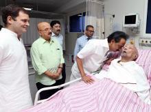 Karunanidhi, Rahul Gandhi, M K Stalin