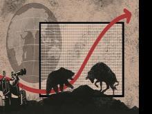 illustration, global markets