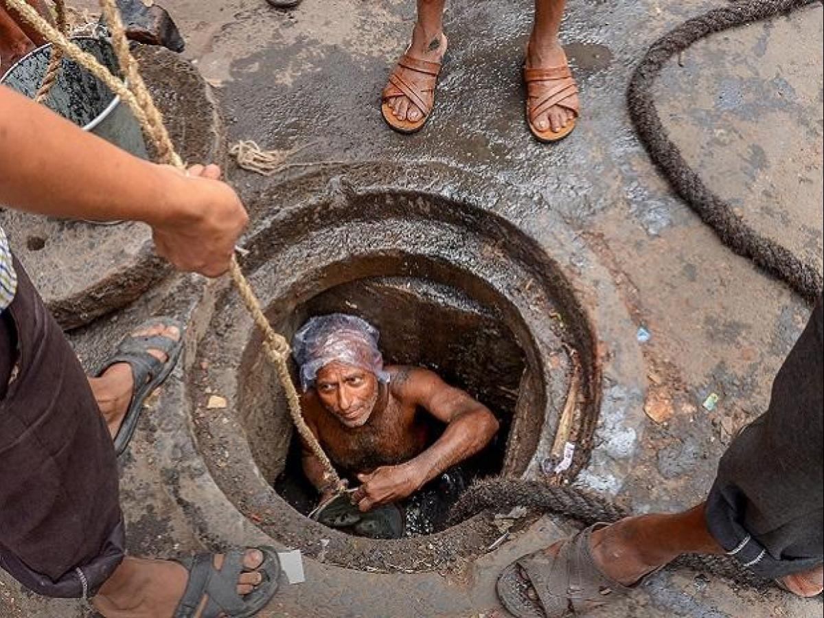 An end to manual scavenging: Sewer-cleaning robot introduced