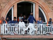 Indian cricket Team at Lords cricket ground. Photo: Reuters