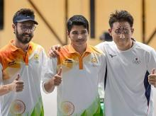 Asian Games 2018, Abhishek Verma, Saurabh Chaudhary