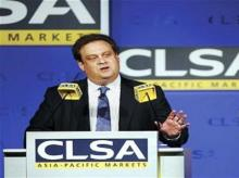 CLSA CEO Jonathan Slone (Photo: Reuters)