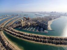 The Jumeirah neighbourhood of Dubai, where World and Palm Jebel Ali luxury homes are located | Reuters
