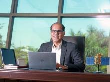 Antrix Chairman and Managing Director S. Rakesh (Photo: www.antrix.co.in)