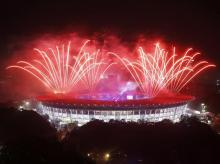 Fireworks and a slew of artistic performances brought down curtains to Asian Games 2018 (Photo: Reuters)