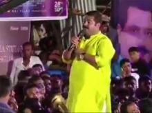 BJP MLA Ram Kadam during Dahi Handi celebrations