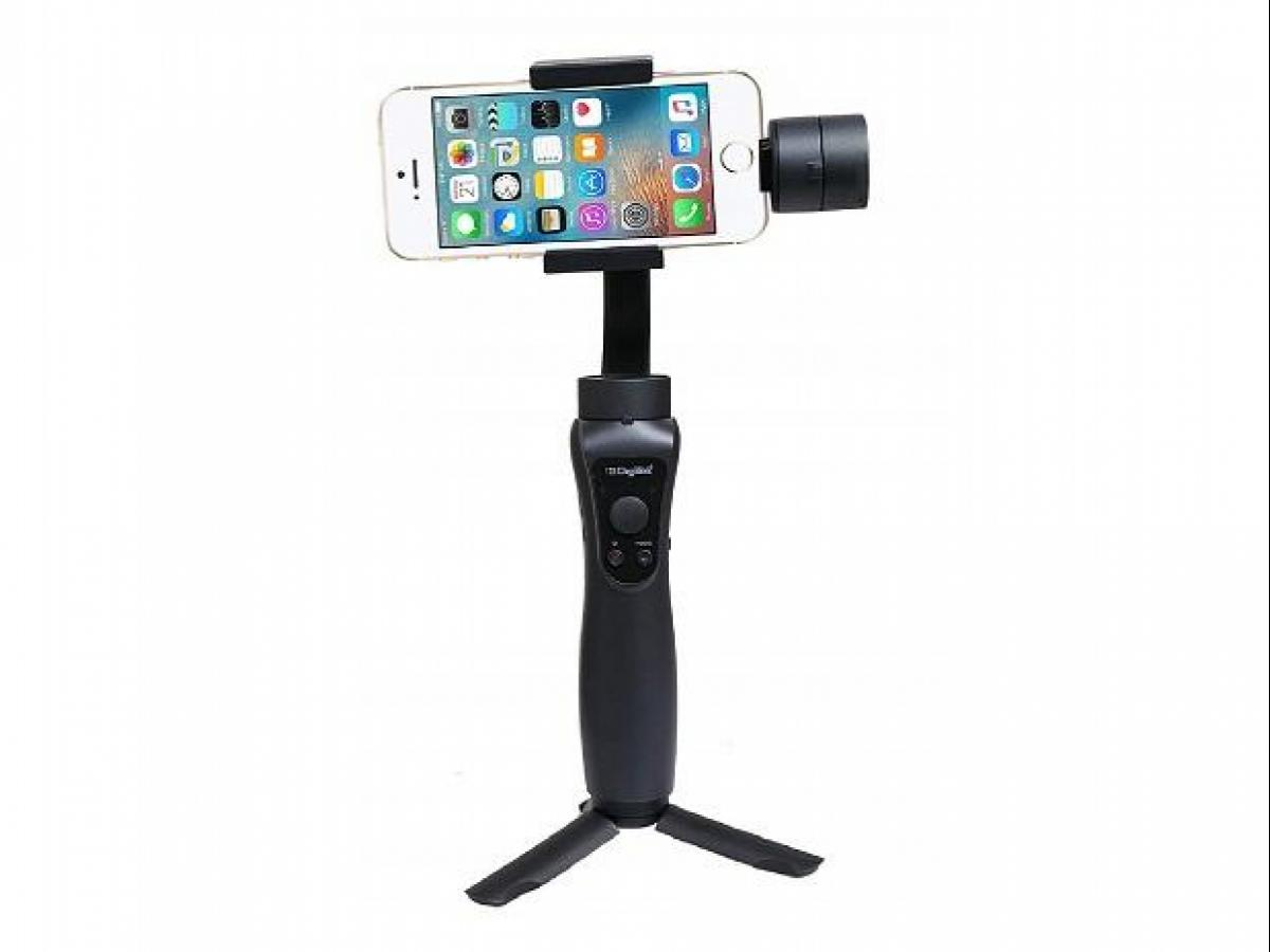 Digitek DSG-005 gimbal: A slow yet sturdy stabiliser for mobile
