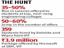 Placement upswing: IT companies open purse strings to tap best talent