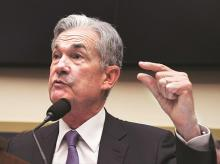 File photo of Federal Reserve Chairman Jerome Powell