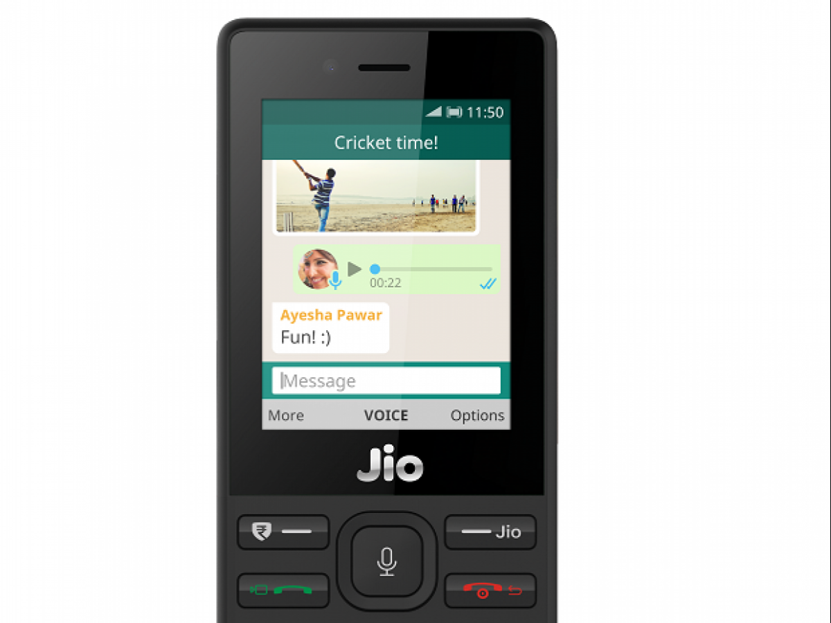 After Facebook, Reliance JioPhone gets WhatsApp