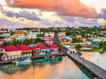 St John's, Antigua, Caribbean island