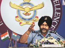 B S Dhanoa, Air chief marshal